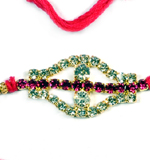 Diamond Rakhi Thread