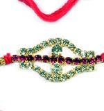 Diamond Rakhi Thread