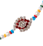 Colorful Diamond Rakhi